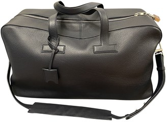 Tom Ford Navy Leather Bags