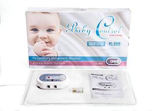 Baby Control BC-200 Breathing Monitor with 1 Sensor Pad
