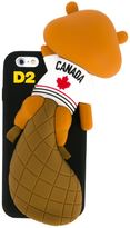 DSQUARED2 squirrel chewing iPhone 6 case - men - Polyurethane/PVC - One Size