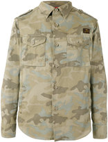 Fay camouflage print jacket