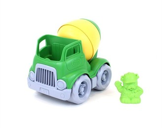Green Toys Mixer Construction Truck - Green / Yellow
