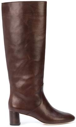 Loeffler Randall knee length slip-on boots
