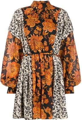 Dodo Bar Or Erin floral-print dress