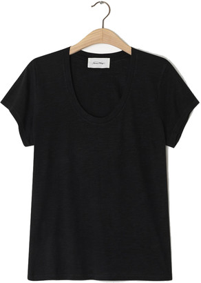 American Vintage Jacksonville Short Sleeve T-Shirt - Black - XS