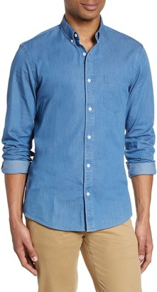 Nordstrom Slim Fit Chambray Button-Down Shirt