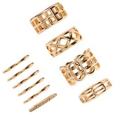 Forever 21 Cutout Stackable Ring Set
