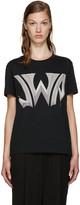 J.W.Anderson Black Logo T-Shirt