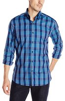Stone Rose Men's Tonal Check Long-Sleeve Shirt