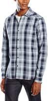 Mavi Jeans Men's Checked Shirt Button-up Shirt 2XL