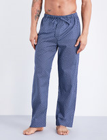 Derek Rose Nelson 59 woven pyjama bottoms