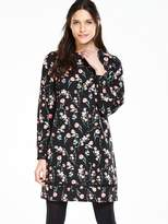 Very Satin Printed Tunic Dress