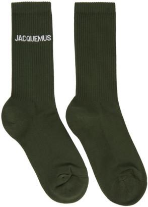 Jacquemus Green Les Chaussettes Jacques Socks