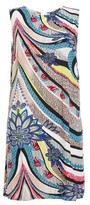 Dorothy Perkins Womens *Quiz Multi Coloured Abstract Print Shift Dress, Multi Coloured