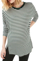 Topshop MATERNITY Slouchy Stripe T-Shirt
