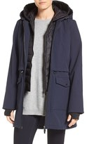French Connection Women's Three-Quarter Anorak With Removable Bib