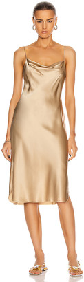 Nili Lotan Junie Dress in Khaki | FWRD