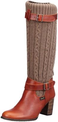 Jonny's Womens Rowena Boots Orange Orange (Orange) Size: 39