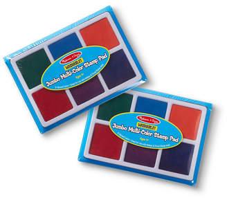 Melissa & Doug Melissa Doug Jumbo Multi-Color Stamp Pad Bundle
