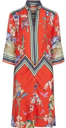 Etro Printed Silk-twill Dress