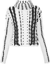 Altuzarra Caravan contrast roll-neck wool sweater