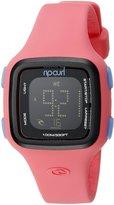 Rip Curl Women's A2466G-PEA Candy Digital Display Quartz Pink Watch
