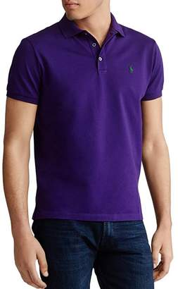 Polo Ralph Lauren Custom Slim Fit Stretch Mesh Polo Shirt