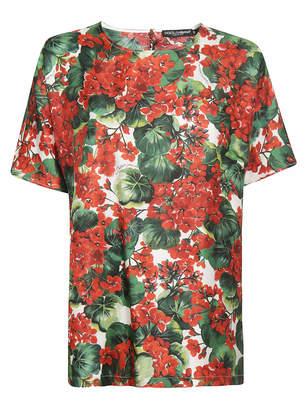 Dolce & Gabbana Printed Blouse