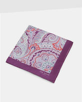 Ted Baker Paisley silk pocket square
