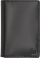 Paul Smith Black Color Band Interior Card Holder