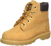Timberland Boy's 6-Inch Classic Boot Wheat Size 5.5