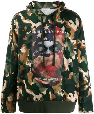 Ih Nom Uh Nit Balaclava Print Camouflage Hoodie