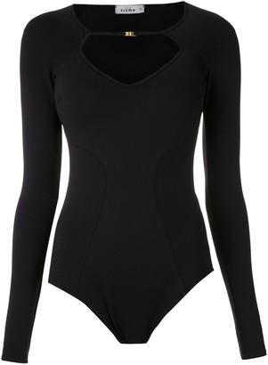 AMIR SLAMA longe sleeved bodysuit