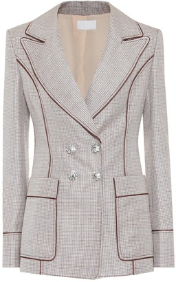 Peter Pilotto Embellished double-breasted blazer
