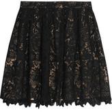 Joie Meray Guipure Lace Mini Skirt