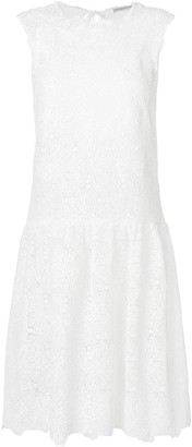 Ermanno Scervino floral lace midi dress