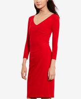 Lauren Ralph Lauren Petite Jersey V-Neck Dress