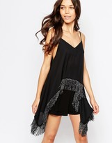 Love Fringed Cami Top