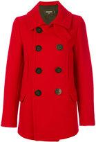 DSQUARED2 Kaban coat - women - Polyamide/Polyester/Virgin Wool - 38