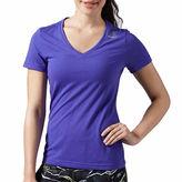 Reebok Short Sleeve V Neck T-Shirt
