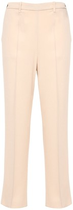 Forte Forte Crepe Satin Straight Pants