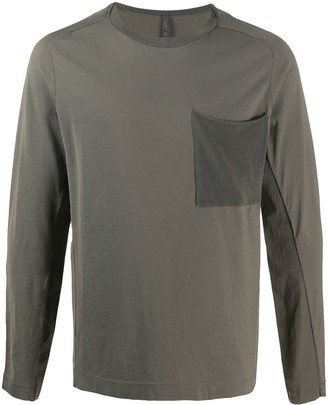 Transit Chest-Pocket Long Sleeve Top