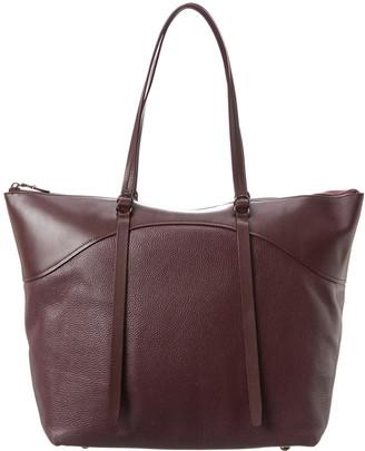 Rebecca Minkoff Signature Top Zip Leather Tote