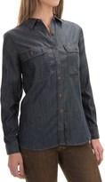 Woolrich Pendulum Denim Shirt - Long Sleeve (For Women)