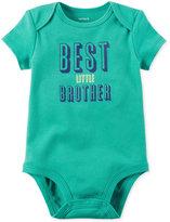 Carter's Best Little Brother Cotton Bodysuit, Baby Boys (0-24 months)
