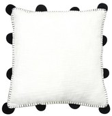 Room Essentials Oversized Pom Throw Pillow - White