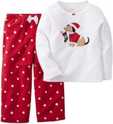 Carter's 2 Piece PJ Set (Baby) - Ivory Dog-24 Months