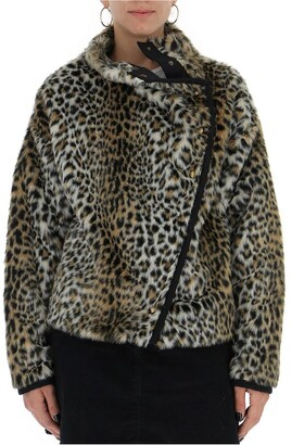Philosophy di Lorenzo Serafini Leopard Print Jacket