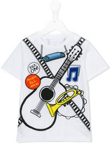 Stella McCartney guitar print T-shirt - kids - Cotton/Polyester - 4 yrs