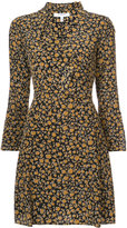 Derek Lam 10 Crosby Cascade Blouse Shift Dress with Bell Sleeves
