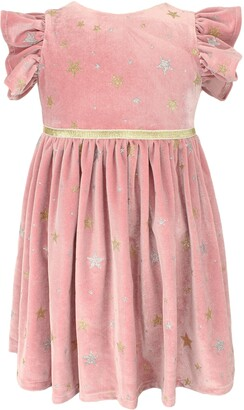 Popatu Kids' Panne Star Dress